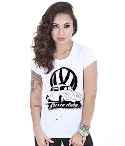 Camiseta Baby Look Feminina Old Car Fusca