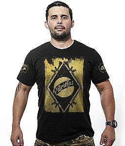 Camiseta Militar Magnata Gold Line Patriotas