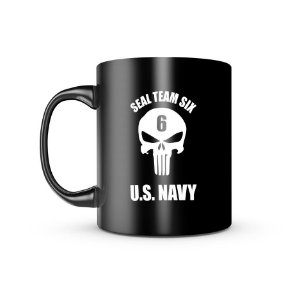 Caneca Dark Militar Seal Team Six US Navy