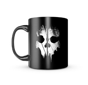 Caneca Dark Militar Ghosts