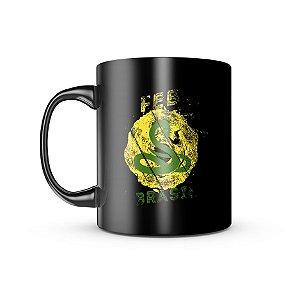Caneca Dark Militar FEB Força Expedicionária Brasileira