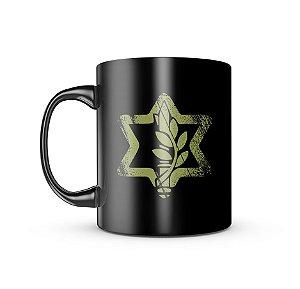 Caneca Dark Militar Israel Defence
