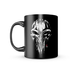 Caneca Dark Gufz6 Punisher Skull