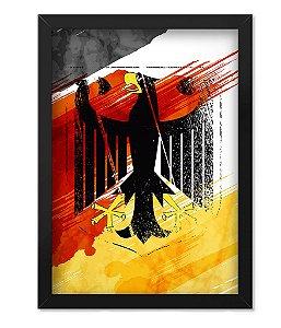 Poster com Moldura Militar Alemanha