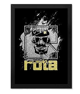 Poster com Moldura Militar Rota