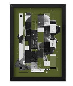 Poster com Moldura Militar Second Soldier