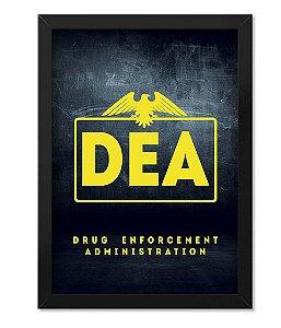 Poster com Moldura Militar DEA