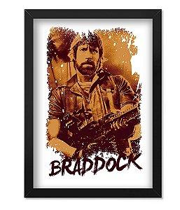 Poster com Moldura Militar Braddock