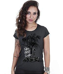 Camiseta Baby Look Feminina Squad T6 GUFZ6 Fallen But Not Forgotten