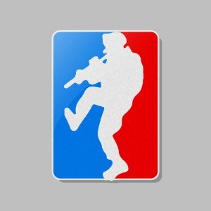 Adesivo Exclusivo Major League Doorkicker Team Six