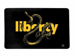 Tapete Militar Liberty Or Death Snake