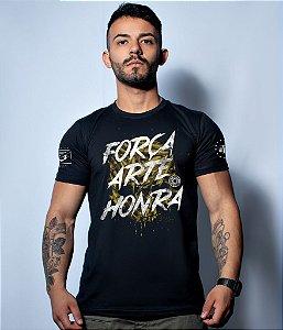 Camiseta Militar Squad T6 Camacho Força Arte Honra