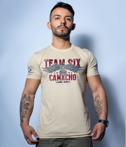 Camiseta Militar Squad T6 Camacho Artesão Eagle Team Six Collection