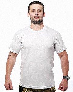 Camiseta Militar Básica Lisa Branca Team Six
