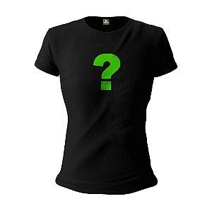 Camiseta Feminina Baby Look Personalizada