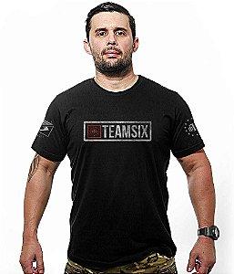 Camiseta Militar Team Six Squad Team Six
