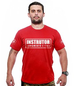 Camiseta Militar Instrutor Team Six