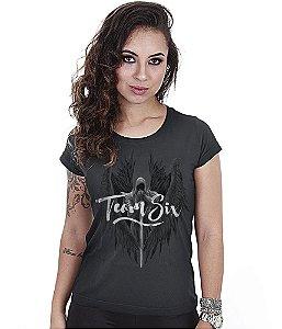 Camiseta Baby Look Feminina Concept Line Team Six Arcanjo