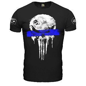Camiseta Militar Punisher Police Live Matter Vidas Policiais Importa Team Six