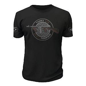 Camiseta Tactical Fritz Tommy Gun John T. Thompson Team Six
