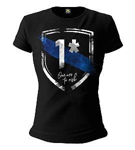 Camiseta Baby Look Feminina Squad T6 Instrutor Fritz One Ass To Risk