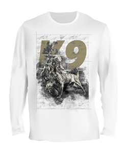 Camiseta Manga Longa Tactical Fritz K9 Concept Team Six
