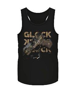 Camiseta Regata Militar Instrutor Fritz Glock Multicam