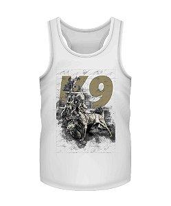 Camiseta Regata Militar Instrutor Fritz K9 Concept