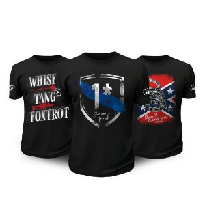 Kit 3 Camisetas Militares One Ass To Risk Tactical Fritz Team Six