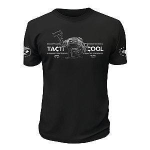 Camiseta Militar Instrutor Fritz Urban Vintage Tacti Cool