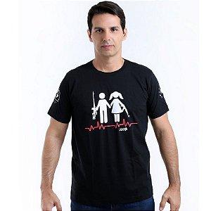 Camiseta militar Lador Boyfriends Army Team Six