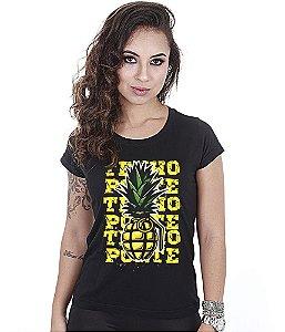 Camiseta Militar Baby Look Feminina Funny Tenho Porte Team Six