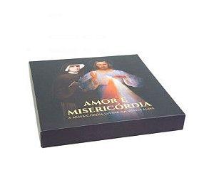 BOX DIÁRIO DE SANTA FAUSTINA - ENCADERNADO - EDIÇÃO LIMITADA