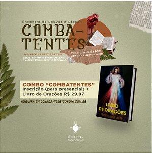 """Encontro de Louvor e Adoração """"Combatentes"""" + Livro de Orações"""