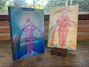 Combo - Livro A Imaculada do Espirito Santo + Icone da Imaculada