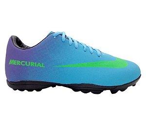 16f443d8ee Chuteira Futsal Nike Magista Branco e Azul Bebê - expresso shopping