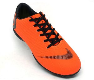 7755c85c17 Chuteira Nike Mercurial Vapor 12 Club Society Laranja e Preto