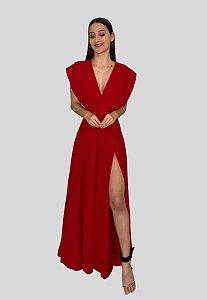Vestido Longo Mil Formas Vermelho