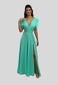 Vestido de Festa Mil Formas Nana Marie Verde Mint