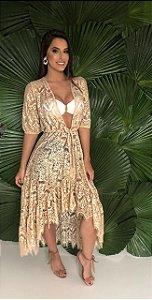 Quimono Cancún  Gold Wear
