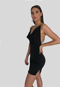 Vestido Rafaela preto