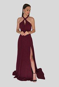 Vestido Mil Formas Marsala