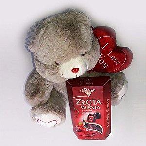 Urso e Chocolate Importado