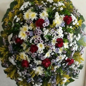 Coroa de Flores Simples
