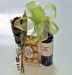 Vinho Rosa e Ferrero Rocher