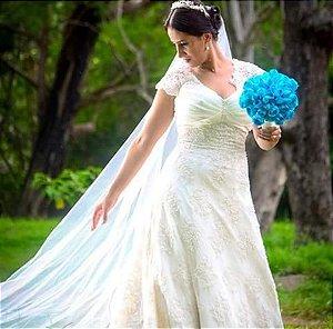 Buquê de Noiva com Rosas Tradicional