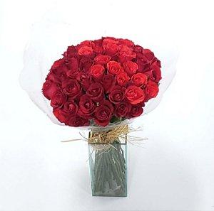 Buquê de Rosas Minimalista