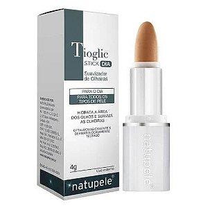 Maquiagem Corretiva para Olheiras Tioglic Stick Dia Natupele 4g