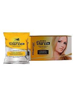 Máscara Capilar De Ouro Alise Hair Hidratação Profunda -  Kit 24 Sachês 50ml