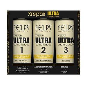 Cauterização Ultra Xrepair Felps Professional (3 Produtos)